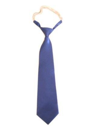 Lange blaue Krawatte