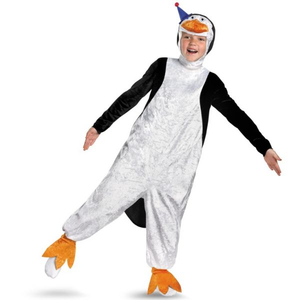 Pinguin Madagascar kostüm kind