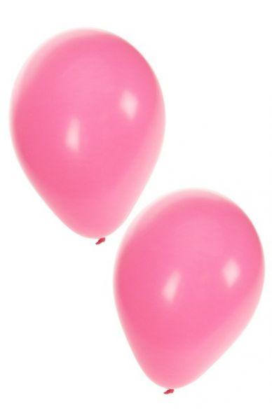 Hellrosa Heliumballons
