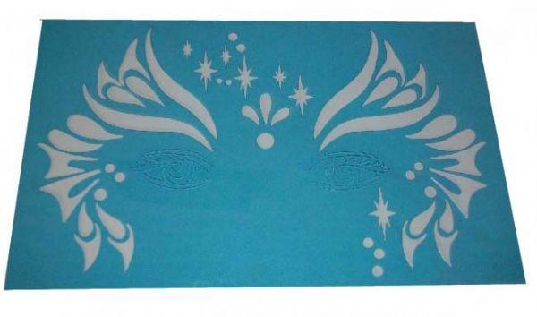 Schminke Schablonen Streifen Sterne Birnen Vorlagen