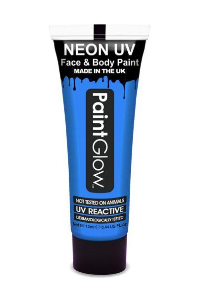 PaintGlow neon UV Schminke blau