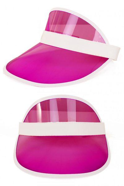 Transparente rosa Sonnenblende