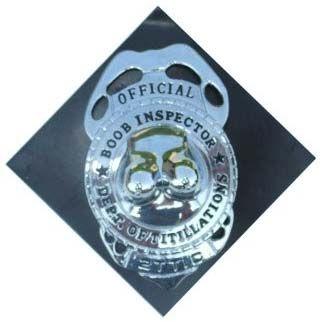 Abzeichen Brust Inspektor mit Stift