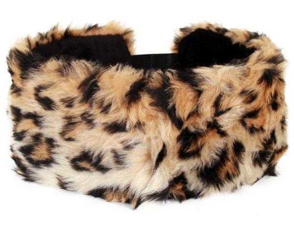 Kopf Haarband Panther