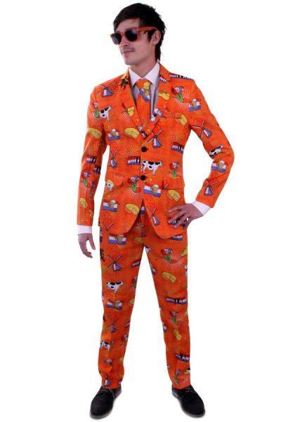 Karnevalskostüm Orange Holland