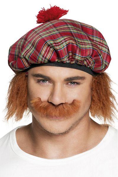 Rötlicher Schnurrbart Scotsman