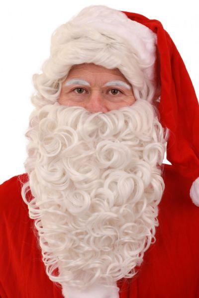 Weihnachtsmann und Bart