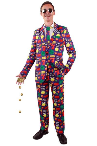 Lustig Casino Obst Kostüm
