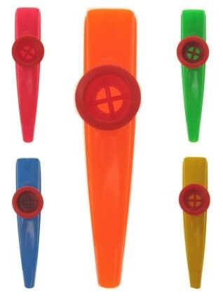 36x Kazoo der Mirlitons Farbmischung
