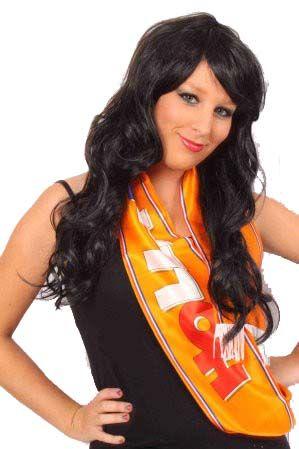 Schal Satin Orange Holland