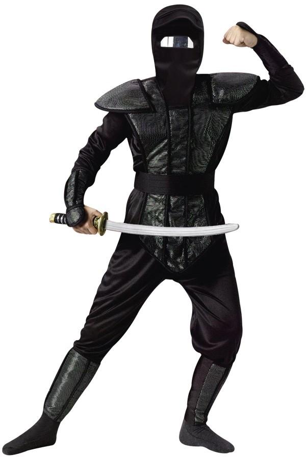 kost m ninja outfit kost me f r fasching karneval und. Black Bedroom Furniture Sets. Home Design Ideas