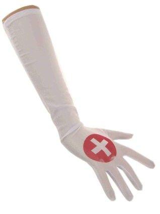 Krankenschwester Handschuhe Satin
