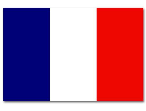 Flagge Frankreich Luxus 90x150cm