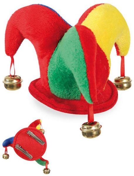 Hofnarr Hut mit Mini Haarspangen