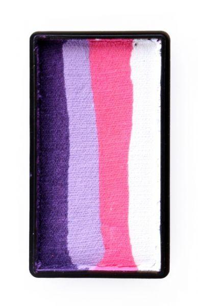 One Stroke Split Cake Purple Rosa Lavendel weiß PartyXplosion
