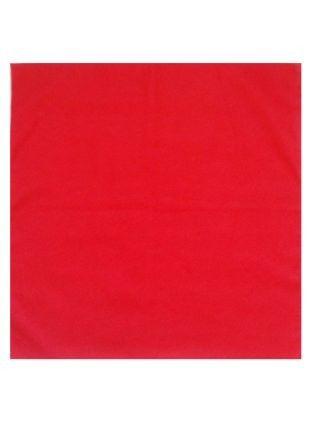 Taschentuch uni rot