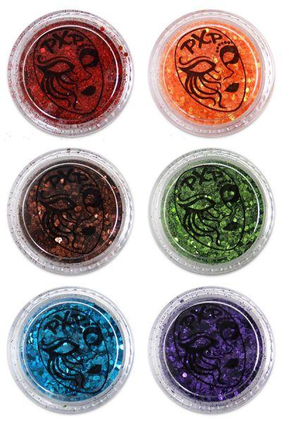 PartyXplosion Glitter Regenbogen feiner Glitzer Mix