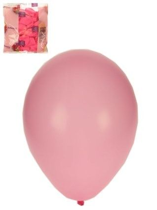 Helium-Ballons 100 x Baby Rose Größe 10