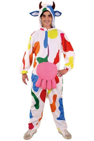 Fröhlich lustig Bonte Kuh-Outfit