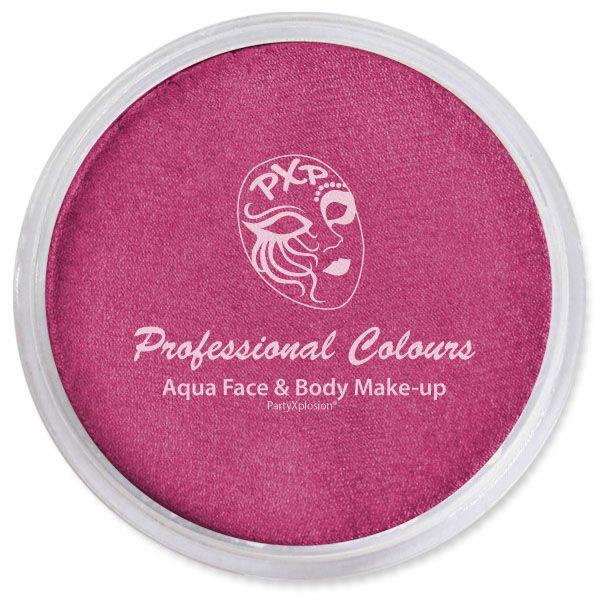 PartyXplosion Schminke Metallic donkel pink