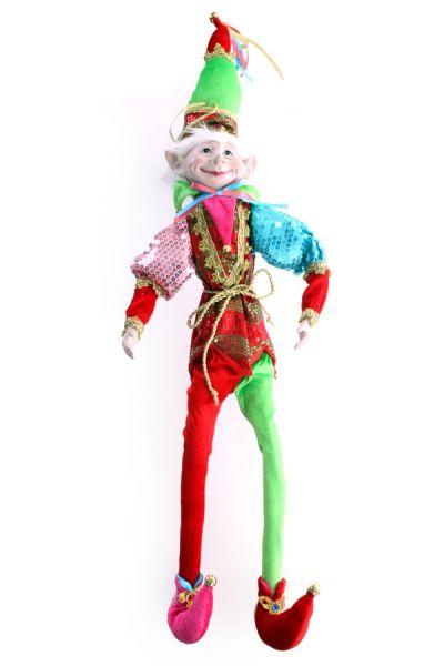 Clownpuppe Pierrette 67 cm