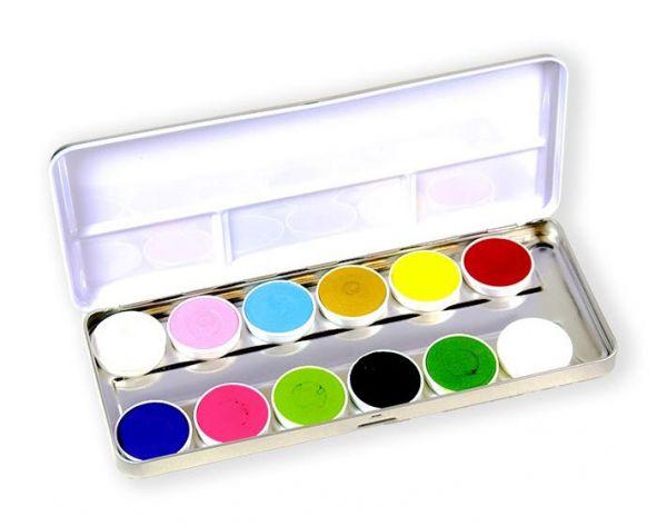 Superstar Schminke palet Botanical 12 Farben