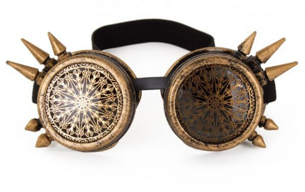 Steampunk Brille Spike Vintage