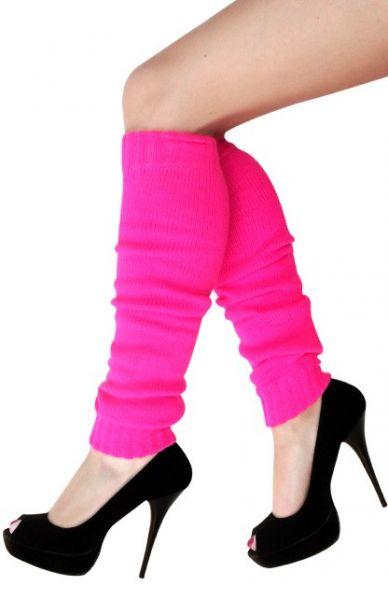 Bein Stulpen rosa