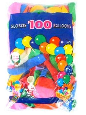 Helium Luftballons farbig sortiert 100 Stück Nr. 12