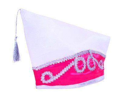 Fürsten Stich weiß pink