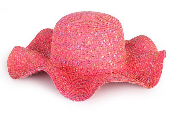 Strand Hut rosa Dame