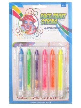 PXP Buntstiften 6 Neonfarben
