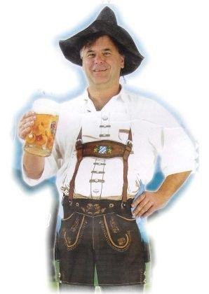 Oktoberfest Bier Schürze Bayern Sep