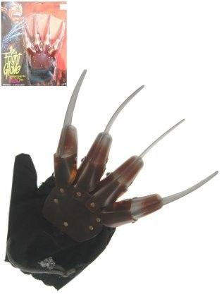 Halloween Freddy Kruger Hand mit Messern