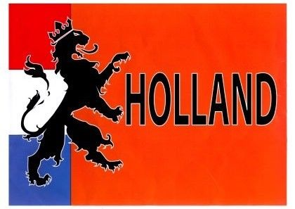Flagge Holländischer Orange Löwe Holland