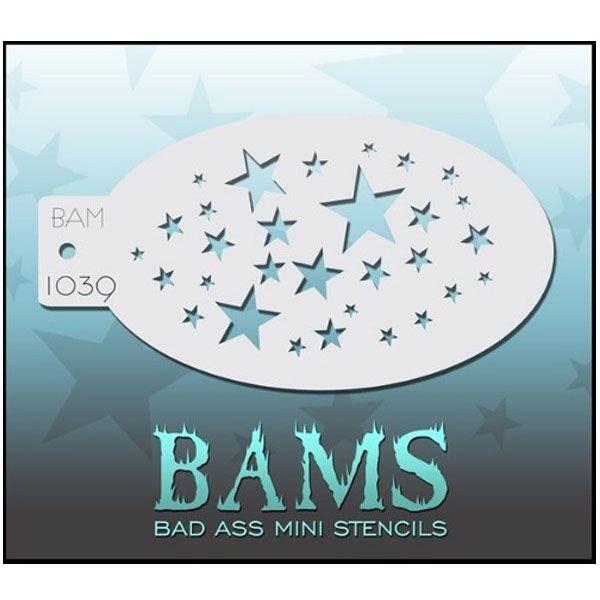 Bad Ass BAM Schminke Vorlagen 1039 Sterne