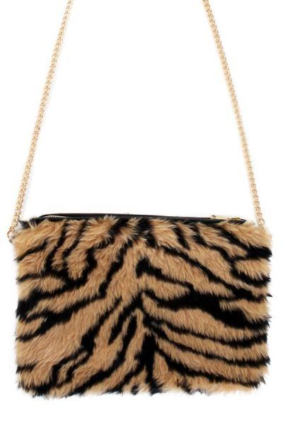 Tiger Tasche Plüsch