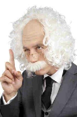 Perücke Professor Einstein
