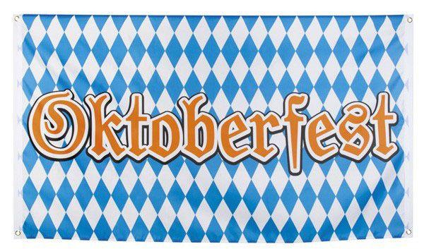 Oktoberfest Bayern Fahne