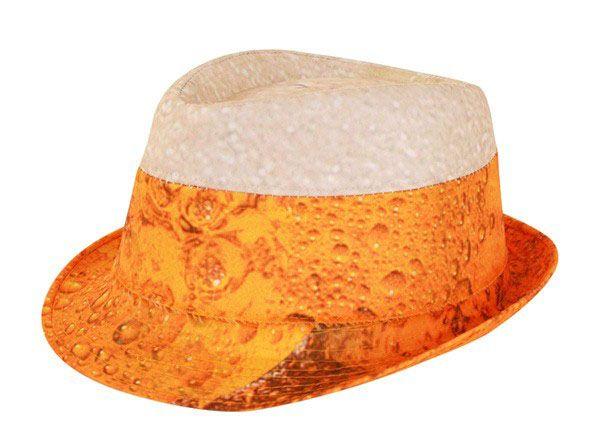 Oktoberfest Bier Hut mit Schaumkopf JGA