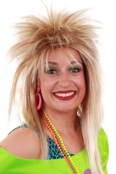 80er Jahre Perücke Jezz blond