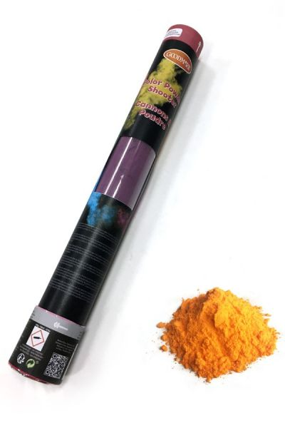 Color Powder Shooter 40 cm orange 350 gram OUTDOOR