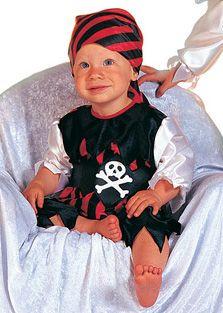 Baby Piraten Hose mit Jacke