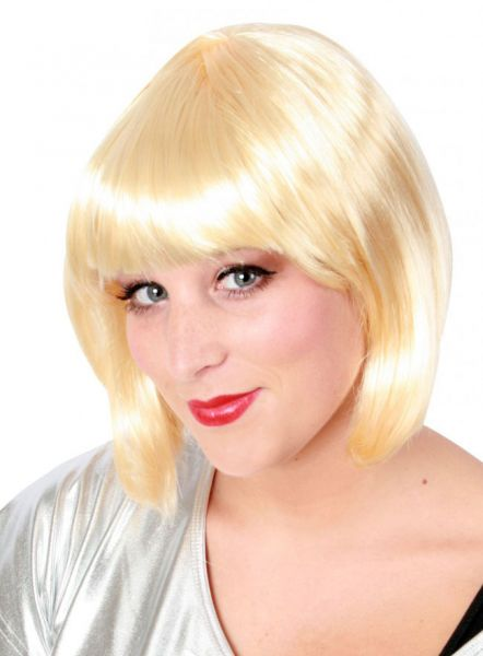 Perücke Bobline Damen Perücke blond Sensation