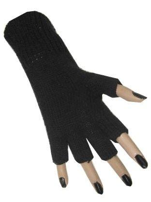 Fingerloser Handschuh schwarz