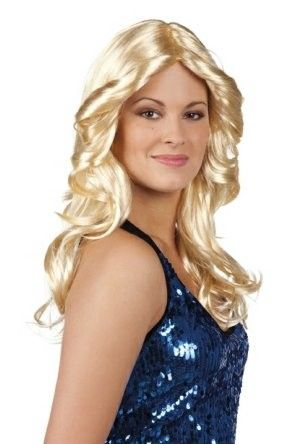 Perücke Disco Doll blond