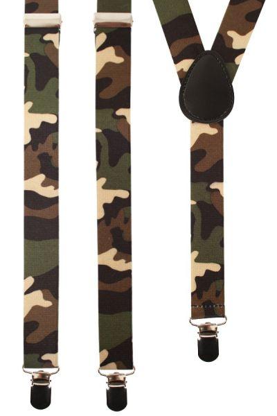 Soldaten Hosenträger Tarnung