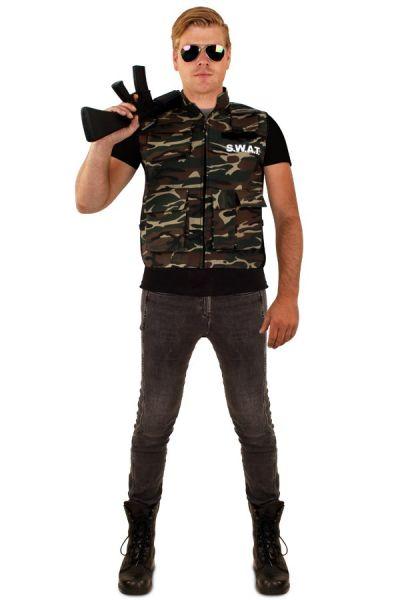 Zäh Camouflage Weste Männer