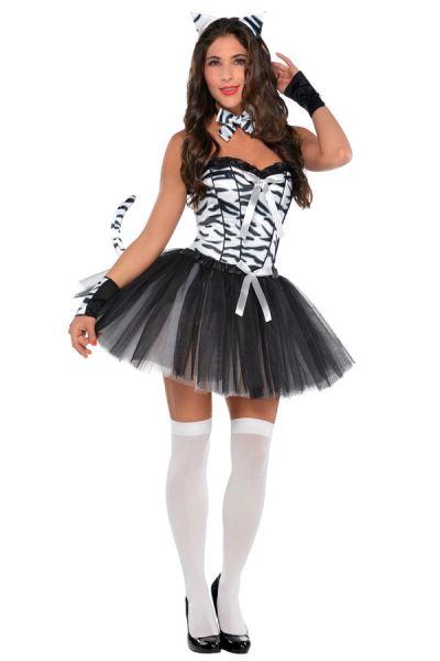 Sexy Zebra Babe Kleid