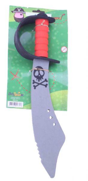 Piraten Schwert weich gebogenen